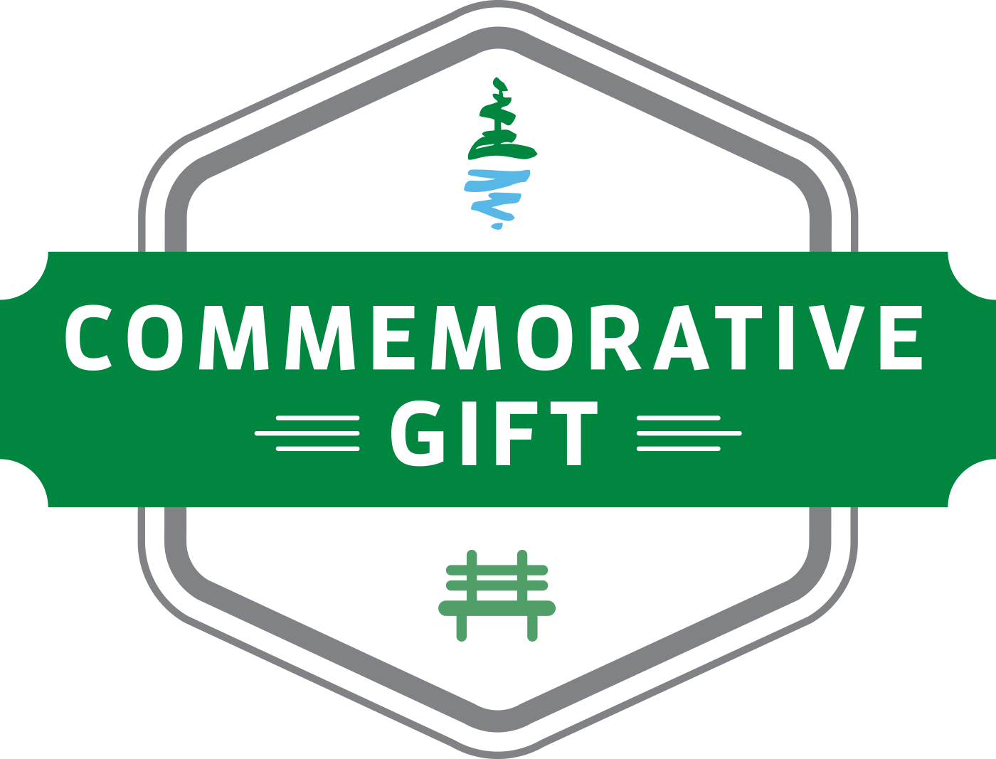 Pacific Parklands Foundation Commemerative Gifts Badge