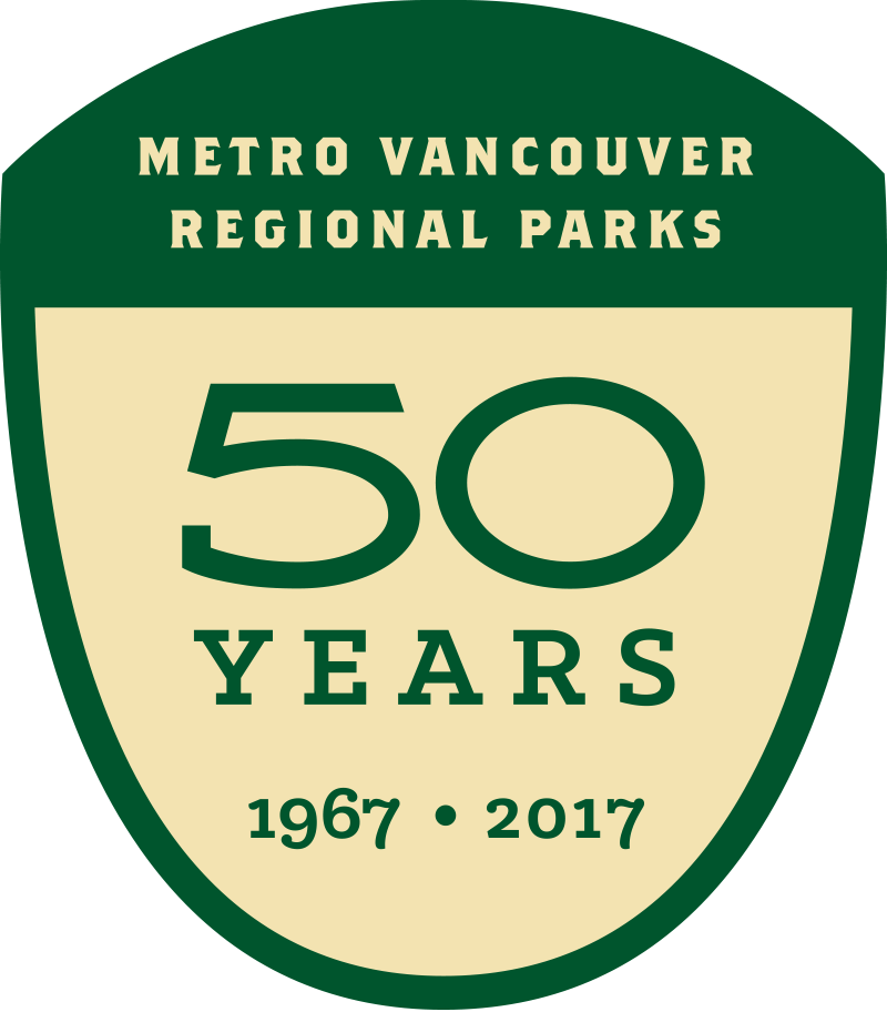 Pacific Parklands Foundation Regional Parks 50 Years Badge