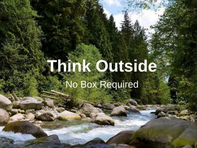 Think outside no box required, Pacific Parklands Foundation,