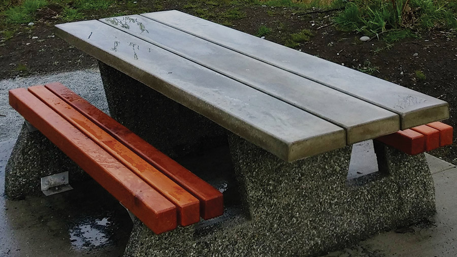 Pacific Parklands Foundation Support Us Commemorative Gifts Picnic Table