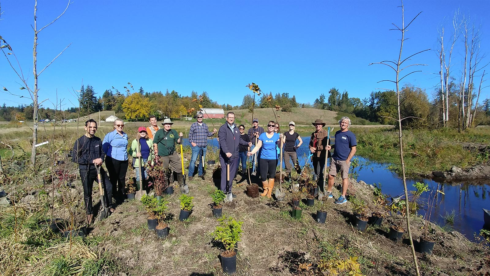 Pacific Parklands Foundation Our Projects The Gordons Brook Wetland Restoration
